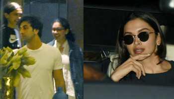 Ranbir Kapoor, Deepika Padukone spotted outside Luv Ranjan's residence-See pics
