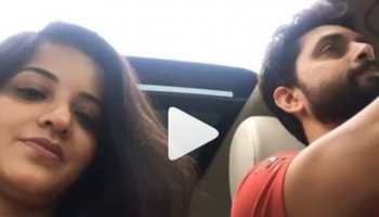 Monalisa goes on a road trip with husband Vikrant Rajpoot, shares video-Watch