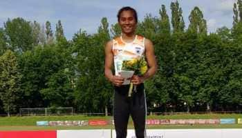 Sprinter Hima Das wins 400 meter race to claim 5th gold of the month