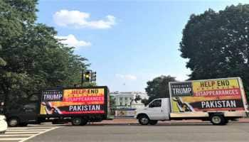 Imran Khan steers past pro-Balochistan banners outside White House to meet Donald Trump