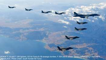 South Korean Air Force F-15, F-16 fighters fire at Russian warplane for violating its airspace