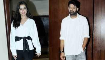 Prabhas, Shraddha Kapoor keep it casual as they step out to promote 'Saaho' — In Pics