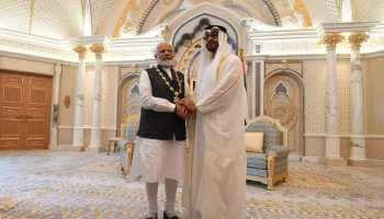PM Modi conferred UAE's highest civilian honour 'Order of Zayed'