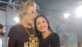 Rani Chatterjee strikes a pose with Shakti Kapoor, pic goes viral