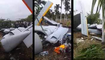 DRDO's unmanned aircraft Rustom 2 crashes in Karnataka's Chitradurga