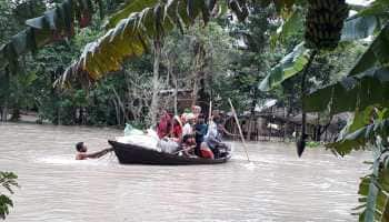 Flood-like situation in parts of Uttar Pradesh, Bihar, Rajasthan, Assam as water levels rise in several rivers