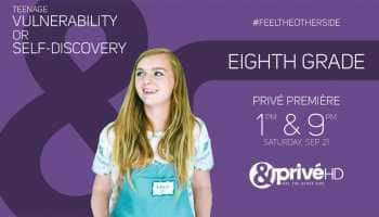 Discover your deepest fears as &PrivéHD premieres coming-of-age story of Kayla in 'Eighth Grade'