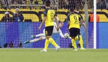 UEFA Champions League: Barcelona hold Borussia Dortmund to goalless draw