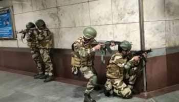 Watch: Mock drill at Delhi metro station to deal with IED blast, terror, chemical attacks