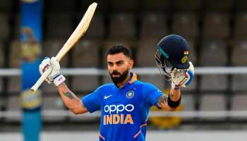 Virat Kohli reprimanded for making physical contact with South Africa paceman Beuran Hendricks