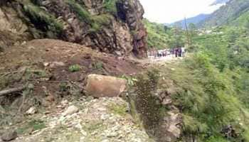 Landslide in Uttarakhand's Rudraprayag; three injured, two missing
