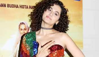 Taapsee Pannu turns heads in a colourful top during 'Saand Ki Aankh' success party—Pics