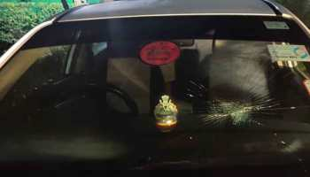 Amid fee hike protest, JNU vice-chancellor's car attacked by students