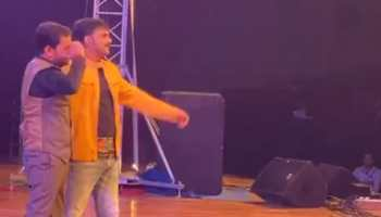 Pawan Singh-Nirahua burn the dance floor at an event in Patna - Watch