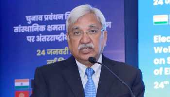 CEC Sunil Arora names Sushil Chandra as his nominee to proposed J&K Delimitation Commission