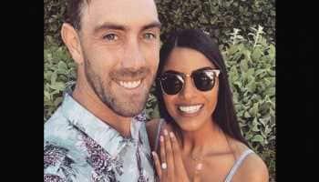 Australian cricketer Glenn Maxwell announces engagement to Indian-origin girlfriend Vini Raman