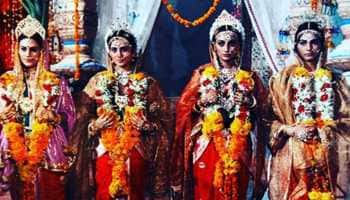 Trending: Ramayan's Sita aka Dipika Chikhlia posts pic with her reel sisters. Can you identify all?