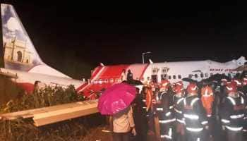Air India Express plane skids at Kozhikode airport, breaks into two, at least 16 including pilot dead