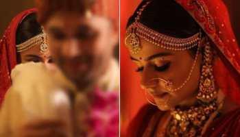 Trending pics from 'Diya Aur Baati Hum' actress Prachi Tehlan's wedding ceremony
