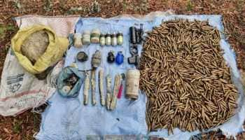Terrorist hideout busted in Jammu and Kashmir's Pulwama, AK-47 magazines, grenades recovered