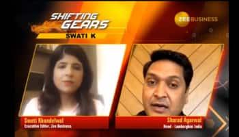 #ShiftingGearsWithSwatiK: Huracan EVO RWD and Urus are driving order bank of Lamborghini, says Sharad Agarwal
