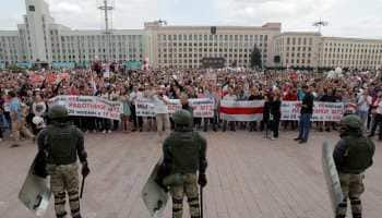 Protests swell in Belarus, Alexander Lukashenko blames foreigners