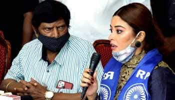 Actor Payal Ghosh joins women's wing of RPI (A); Ramdas Athawale names her vice president