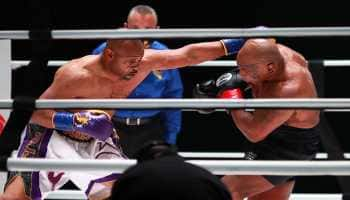 Mike Tyson returns to ring, shares engaging draw with Roy Jones Jr in 'exhibition' bout