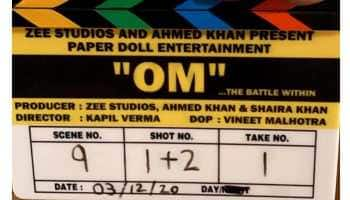 Aditya Roy Kapur begins shooting for new action film ''Om: The Battle Within''