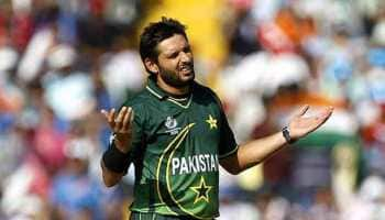 Shahid Afridi encounters visa issues after landing in UAE for upcoming T10 league