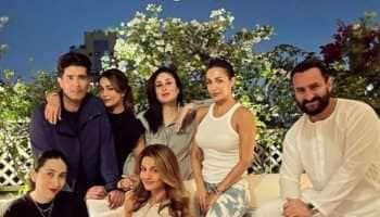 New parents Kareena Kapoor, Saif Ali Khan party with Karisma Kapoor, BFF Malaika Arora!