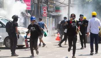 Myanmar protesters allowed to leave Yangon district after being trapped by military for defying night curfew