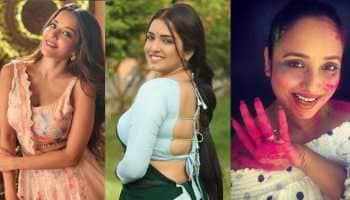 Bhojpuri Holi tadka: Aamrapali Dubey, Monalisa and Rani Chatterjee spice up social media with dance videos - Watch