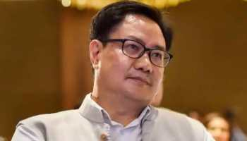 Union Sports Minister Kiren Rijiju tests positive for COVID-19