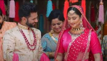 Rahul Vaidya and ladylove Disha Parmar's new wedding song 'Madhanya' looks ethereal - Watch
