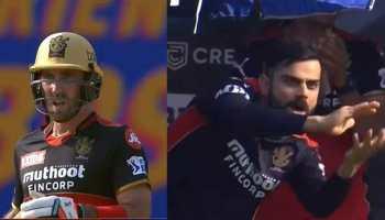 IPL 2021 RCB vs KKR: Virat Kohli's animated celebration after Glenn Maxwell's 28-ball 50 is something not to be missed - WATCH