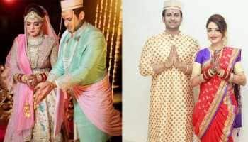 Newlyweds Sugandha Mishra, comedian husband Sanket Bhosale booked for violating COVID rules at wedding