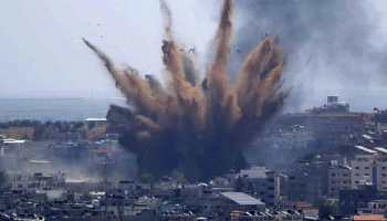 65 Palestinians killed, 365 wounded in Gaza in Israeli airstrikes