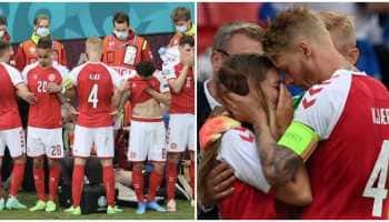 From Cristiano Ronaldo to Didier Drogba: Football fraternity come together and pray for Christian Eriksen after midfielder collapses during Euro 2020 match
