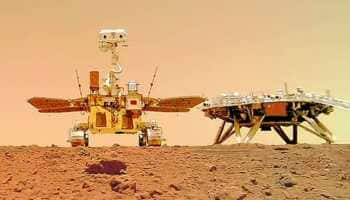 China's Zhurong rover celebrates one month on Mars, snaps selfie with lander - See pics