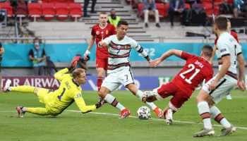 UEFA Euro 2020: Record-breaking Ronaldo helps defending champions Portugal thrash Hungary 3-0 - WATCH