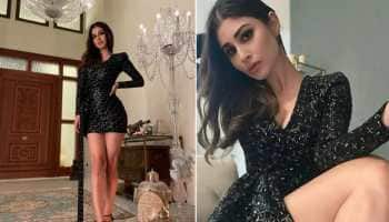 Mouni Roy's glam photoshoot in black shimmery bodycon dress is unmissable!