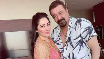On Sanjay Dutt's birthday, wife Maanayata Dutt wishes hubby with 'love, health and success'!