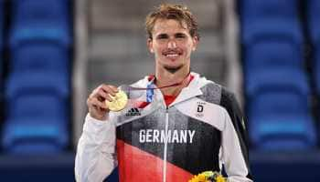 Alexander Zverev becomes first German man to win Olympic singles gold medal