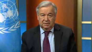 UN chief Antonio Guterres calls for solidarity on International Day of Peace