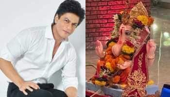 Shah Rukh Khan bids adieu to Ganpati Bappa on last day of Ganesh Chaturthi