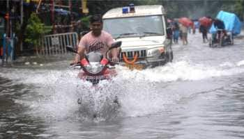 Torrential rains throw life out of gear in Kolkata, waterlogging seen in many areas