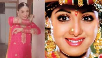Pakistani actress Ayeza Khan recreates Sridevi's song 'Mere Haathon Mein' from Chandini