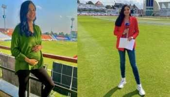 Pakistan cricket anchor Zainab Abbas flaunts her 'baby bump' in stadium, see pic