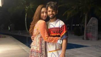 Disha Parmar wishes 'Love of her life' Rahul Vaidya Happy Birthday with romantic photos - Watch